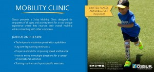 Ossur Mobility Clinic Flyer 2